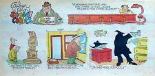 Gahan Wilson Sunday Comics - macabre humor - Sunday comic page - April 13, 1975