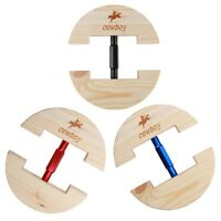 Wood Hat Enlarger Hat Maintainer & Resizer Fits for Leather Hats & Cowboy Fedora