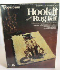 Vintage Latch Hook Kit Vogarts Crafts #4331 Siamese Cat Nos