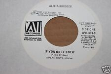 Alicia Bridges If You Only Knew WLP 45 From Co Vault Unopened Box Lot *