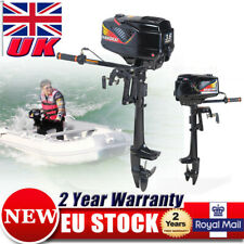 3.6HP 2 Stroke Outboard Motor Fishing Boat Dinghy Engine CDI Water Cooling UK