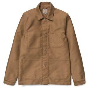 Carhartt Fynn Chore Jacket Tan Medium