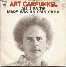 ART GARFUNKEL All I know FRENCH SINGLE CBS 1973