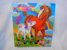 Used Lisa Frank Ring Binder My Memory Book Horse Pony Rainbow Chaser & Lollipop