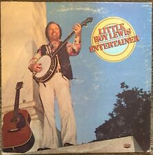Little Roy Lewis – Entertainer LP Vinyl Record 1977 Bluegrass Gospel