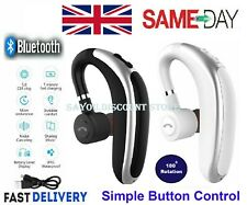 More details for  wireless bluetooth earphones headphones sports ear hook run earbuds all devices
