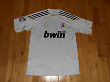 OFFICIAL  REAL MADRID MENS LFP SOCCER TEAM JERSEY  KIT MENS X-LARGE XL BECKHAM