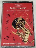 Ford Audio Systems Demonstration Tape Brand New OEM NOS Cassette