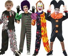 Figlio Tartan Clown FRAC NEON Carnevale Circo Libro Settimana Costume Bambini