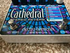 Electro Harmonix - Cathedral Stereo Reverb Guitar Effects Pedal - USED.