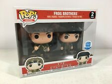 Funko Pop The Lost Boys Frog Brothers 2 Pack Limited Funko Shop Exclusive