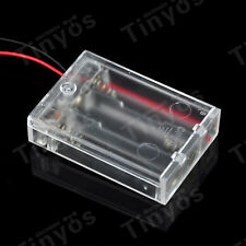 DC 4.5V AA Battery Holder Battery Box With Power Switch (For Arduino And Other)