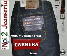 Jeans Carrera Light Mod 710 With Button 11 Once Size 54