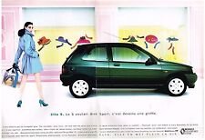 PUBLICITE ADVERTISING  1992  RENAULT  CLIO  ( 2 pages)