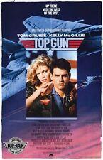 TOP GUN IMAX - 11x17 Original Promo Movie Poster MINT TOM CRUISE 2013 ReRelease