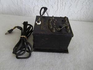 LIONEL PREWAR TYPE T TRANSFORMER 100 watts  Vintage  Tested Works OK  Orig. Cord