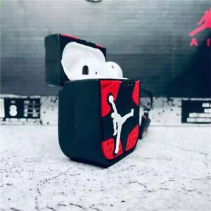 Michael Jordan 23 NBA Bulls Basketball Shockproof Silicone Case For Airpod 1&2