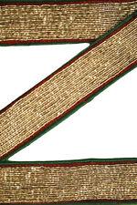 Vintage Antique Border, Decorative Sari Trim, 1 Yard, Embroidered Ribbon ST1740