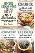 ELECTRIQUE pression cuisinière Livre de recettes Coffret 160 9781514301524