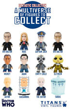 """Titans Vinyl Doctor Who 9th Dr Fantastic Collection YOU CHOOSE Ninth 3"""" Figures"""