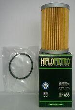 Husaberg FS570 Supermoto (2010 to 2011) HifloFiltro Oil Filter (HF655)