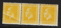 New Zealand 1915 SG439 2d Double Error Stamp - Rare Paper Fold Flaw ..