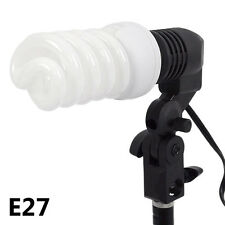 E27 Lamp Head Photography Photo Lighting Bulb Holder Socket Studio Light EU Plug