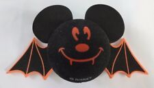 Disneyland Antenna Topper Mickey Mouse Bat/Vampire DisneyHalloween Black/Orange