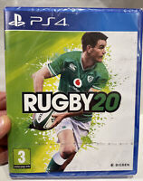 RUGBY 20 PS4 VIDEOGIOCO UFFICIALE RUGBY 2020 PLAY STATION 4 NUOVO SIGILLATO