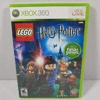 Xbox 360 Lego Harry Potter Years 1-4 With Manual
