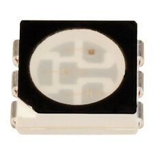 2x LED RGB 5050 PLCC6 SMD 120deg 500-1560mcd White Diffused Light Emitting Diode