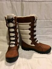 NEW Timberland Women's MT. Hayes Tall WATERPROOF Boots Leather Size 8  6910B