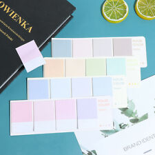 80sheets Sticky Notes Index Memo Pad Bookmarks Cute Scheduler Paper Stickersmm