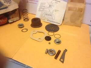 Studebaker and Lotus AC fuel pump kit. Diaphragm missing.   Item:  8919