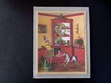 Vintage Sample Xmas Greeting Card by Charlotte Joan Sternberg Cupboard of Cheer