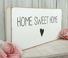 shabby vintage chic home sweet home plaque signs love first home house gift