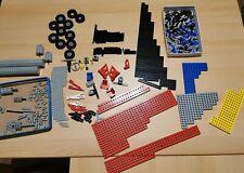 LEGO 20 x tecnica Technic foro pietra 1x2 Croce Blu Blue Hole Brick 32064