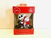 NEW 2020 Disney Hallmark Jack And Sally Nightmare Before Christmas Ornament