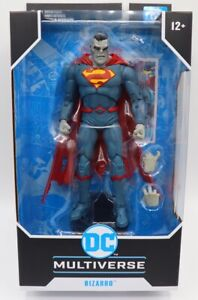 McFarlane DC Multiverse Rebirth Superman Bizarro 7-Inch Action Figure