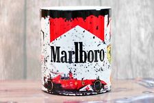 Premium Retro Marlboro Ferrari Racing Motorcycle Moto Oil Can Mug Tea Coffee Mug