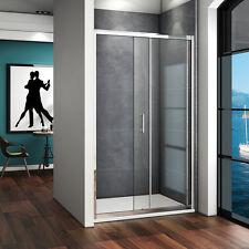 Duschkabine Duschabtrennung Duschwand Dusche Schiebetür Nischentür 100x185cm