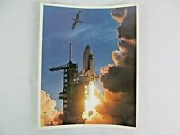 NASA Photograph Space Shuttle STS 1 Columbia Takeoff Young Crippen 8 x 10