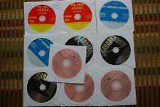 10 CDG DISCS COUNTRY & ROCK KARAOKE CD+G -RINGO STARR,HUEY LEWIS,CLAPTON 30b