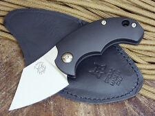 Fox Knives Bastinelli BB Dragotac Higonokami Friction Folder Knife Black FRN New