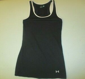 """UNDER ARMOUR """"Wounded Warrior Project"""" Women's Tank Top Medium Black"""