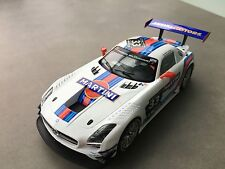 "CARRERA DIGITAL 124 23825 Mercedes Benz SLS AMG GT3 ""Martini No.33 NEU STP FOTOS"