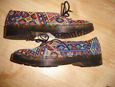 """Raro Dr Martens 'morada """"zapatos talla UK 3 EU 36"""