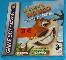 La gang del bosco - Hammy si scatena - Game Boy Advance GBA Nintendo - PAL New