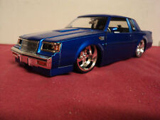 Jada 1987 Buick Regal Grand National 1/24 scale  new 2003 release blue exterior