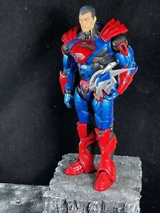 McFarlane Toys DC Multiverse Superman Unchained w/ Unmasked Head Loose JL